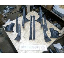 Накладка порога Subaru Forester (S12) 2008-2012