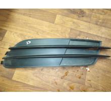 Накладка ПТФ правая без отверстия Audi A6 [C7,4G] 2011>