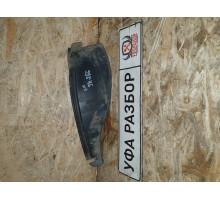 Защита заднего бампера правая  Nissan Almera (G15) 2013>