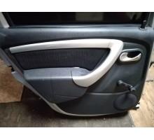 Обшивка двери задняя левая Nissan Terrano III (D10) 2014>