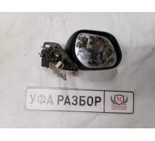 Корпус с зеркалом без крышки правый Mitsubishi Pajero Sport (K9) 1998-2008